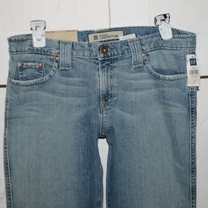 Gap long n lean womens jeans size 12 -8312-